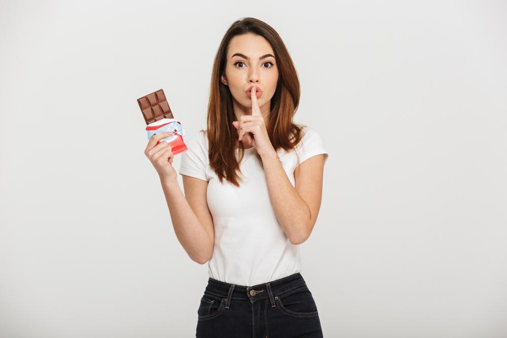 no dejes el chocolate